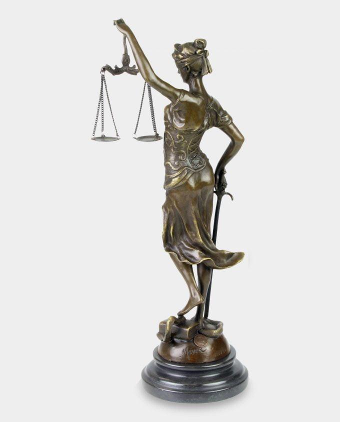 Temida Bogini Sprawiedliwości 40 cm