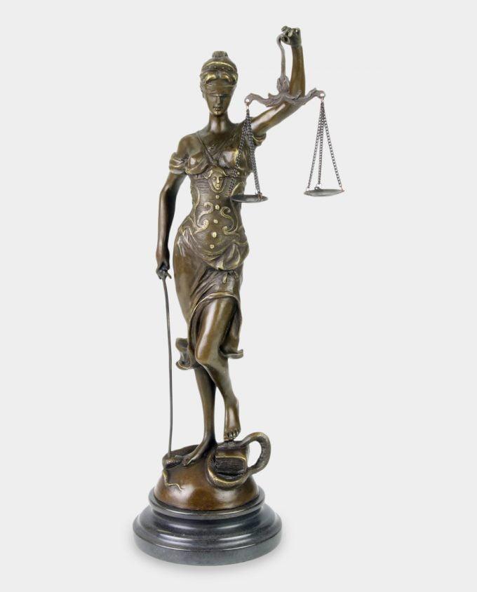 Rzeźba z Brązu Temida 40 cm