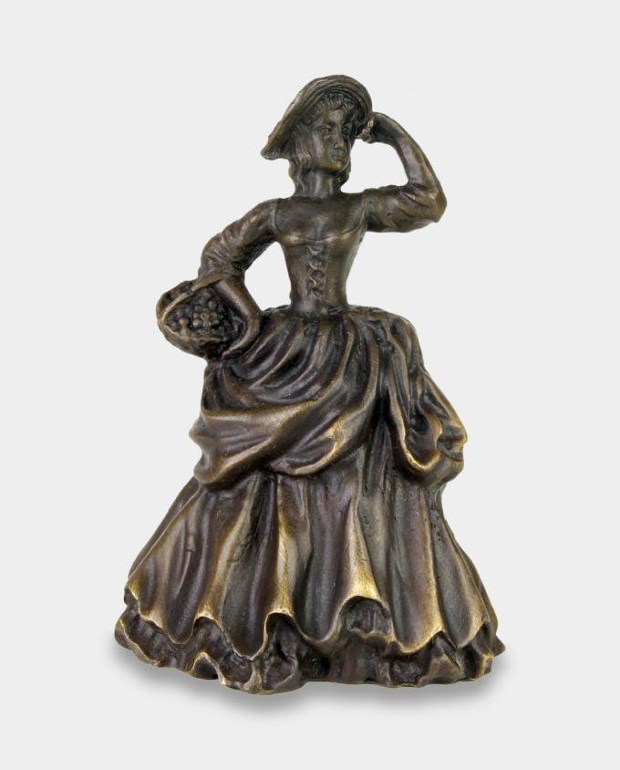 Dzwonek z Brązu Dama z Koszykiem