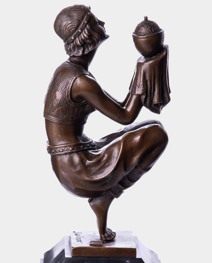 Zapomnienie wg Duvernet Rzeźba z Brązu